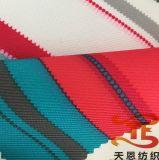 Tissu 100% extérieur estampé par Gabardin du polyester 300d avec l'enduit 5K/5K d'unité centrale
