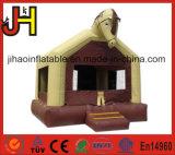 Castillo de salto inflable colorido de la gorila de la casa del tema del caballo
