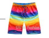 Shorts unissexo Prancha Beach confortáveis calças Calções Quick Dry