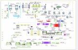 Le béton cellulaire autoclavé 4.8X1.2m Ligne de Production