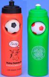 Garrafa de água plástica do esporte com logotipo personalizado