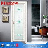 Portello di vetro di alluminio della stanza da bagno della decorazione domestica per l'entrata