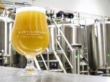 ムギビール作成のためのマイクロBrewhouseが付いている1000Lビール醸造装置