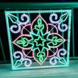 カスタマイズされたLEDのクリスマスの照明ロープライト装飾