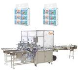 12 Beutel-Abschminktuch-Serviette, die Verpackungsmaschine zusammenrollt