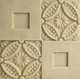 Tuiles de Relievo de mur de matériaux de construction