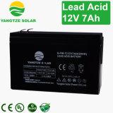 Bateria acidificada ao chumbo recarregável pequena 12V 7ah