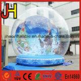 Раздувные украшения рождества глобуса снежка/раздувной шатер пузыря