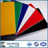 Zusammengesetztes Aluminiumpanel mit unterschiedlicher Größe und Farbe