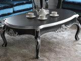 居間の家具の木製の贅沢な上昇の上のコーヒーテーブル