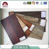 le bois d'utilisation de l'espace d'intérieur de 2.0mm colore l'étage de film publicitaire de vinyle de PVC