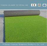 サッカー競技場のための50mm PPの物質的で総合的な草