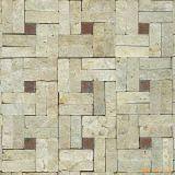 Telha oxidada da pedra da cultura da ardósia da telha da ardósia da cultura