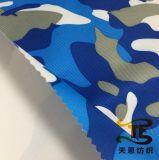 Бирка Repreve рециркулировала ткань напечатанную Twill для одежды или одежды детей