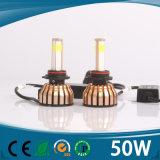 40W H7 Auto des Auto-LED des Scheinwerfer-4000lm 6000k H7 LED beleuchtet H4 H13 9005 H11 LED Konvertierungs-Installationssatz