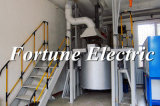La fusión del silicio pequeño horno de arco eléctrico