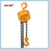 Bloco Chain manual de levantamento de construção 2ton das ferramentas