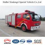 camion dei vigili del fuoco Emergency Euro4 dell'acqua di salvataggio dell'azionamento di 3ton Dongfeng 4*2