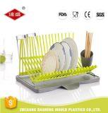 中国様式の台所道具皿ラックまたは皿の乾燥ラックまたはプラスチック皿ラックWirthのプラスチック箸のホールダー