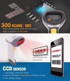 고속 300 검사 또는 SEC 의 소형 1d CCD Barcode 스캐너, Ce/FCC/RoHS Barcode 독자는 셀룰라 전화와 PC, Mj2816에, 부호를 읽었다