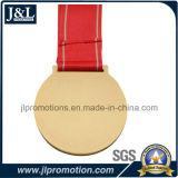 Medaglia su ordinazione di avvenimenti sportivi nella sagola placcata ottone antico disponibile