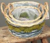 (BC-WF1029) Cesta natural hecha a mano respetuosa del medio ambiente de la flor del sauce