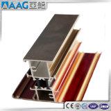 Алюминиевые/алюминиевые профили штрангя-прессовани для сползать/Casement/тент/зафиксировали двери и Windows