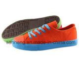 Chaussures décontractées à bas prix avec toile supérieure (SNC-230014)