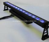 Controle RGBW 14X10W de DMX com luz ao ar livre da arruela da parede do diodo emissor de luz da iluminação do efeito da perseguição