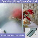 3.2m m endurecieron el vidrio usado para el colector solar del calentador de agua de FPC