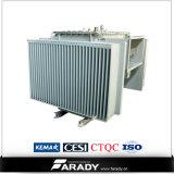 オイルによって浸される60Hz 10kVAの三相電源変圧器