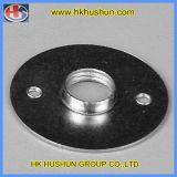 CNC girando las piezas de acero inoxidable, cobre, aluminio, plástico (HS-TP-005).