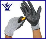 Перчатки Кевлар отрезока тактического сопротивления ножа анти- работая перчатки (SYSG-1122)