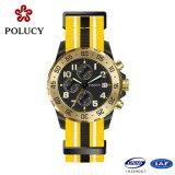 Mens Collection Nylon Strap Watch avec étanche 50m