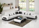 أسلوب حديثة [إيوروبن] بيئيّة جلد أريكة مع [لد] ضوء ([هك1123])