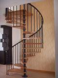단단한 나무 층계 보행 또는 장식적인 층계 보행