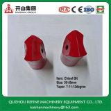 Bits de cincel cônicos de carboneto de tungstênio de 30mm para perfuração de rocha