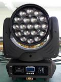 DMX512 15W RGBW 4in1 LED Moving Head Bee Eye Light