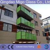 Ясность или покрашенное изготовление прокатанного стекла от Китая