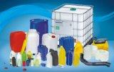 Automatischer Plastikflaschen-Blasformen-Maschinen-Strangpresßling-durchbrennenformenmaschine