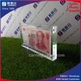 China 1 & 100 RMB Estrutura Currence acrílico