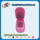 Stuk speelgoed van de Telefoon van de Tik van de Gift van de bevordering het Plastic Roze voor Jonge geitjes