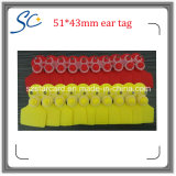 China Plastic Ear Tag for Animal Tracking Managment