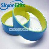 Doppio Wristband su ordinazione all'ingrosso del silicone