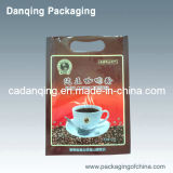 Sacchetto impaccante del chicco di caffè di Danqing con la parte superiore Y0100 della chiusura lampo
