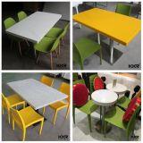 Tache de la résistance de surface solide Restaurant moderne de la Table Table à manger