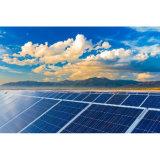 Tetto piano che monta sistema domestico solare con TUV per uso residenziale