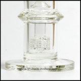Hfy 유리 7mm 매트릭스 Perc 버플러 관을%s 가진 수관을 연기가 나는 석유 굴착 장치 두꺼운 8 인치 Mobius Glassworks