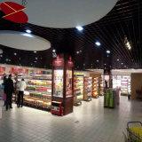Fonction Firproof Shopping Mall Décoration Grill en aluminium de la conception de plafond