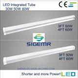 100-277V 30W 40W 50W IP65 LED 세 배 증거 전등 설비
